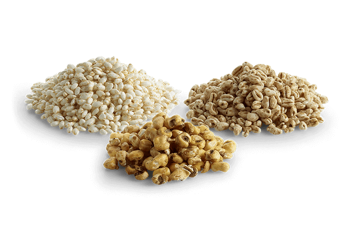 Puffed Grains Trio